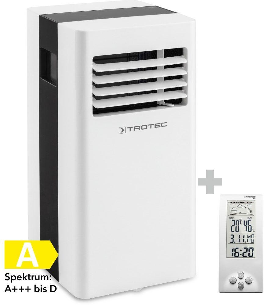 Klimatyzator przenośny PAC 2100 X + Termohigrometr stacja pogodowa BZ06