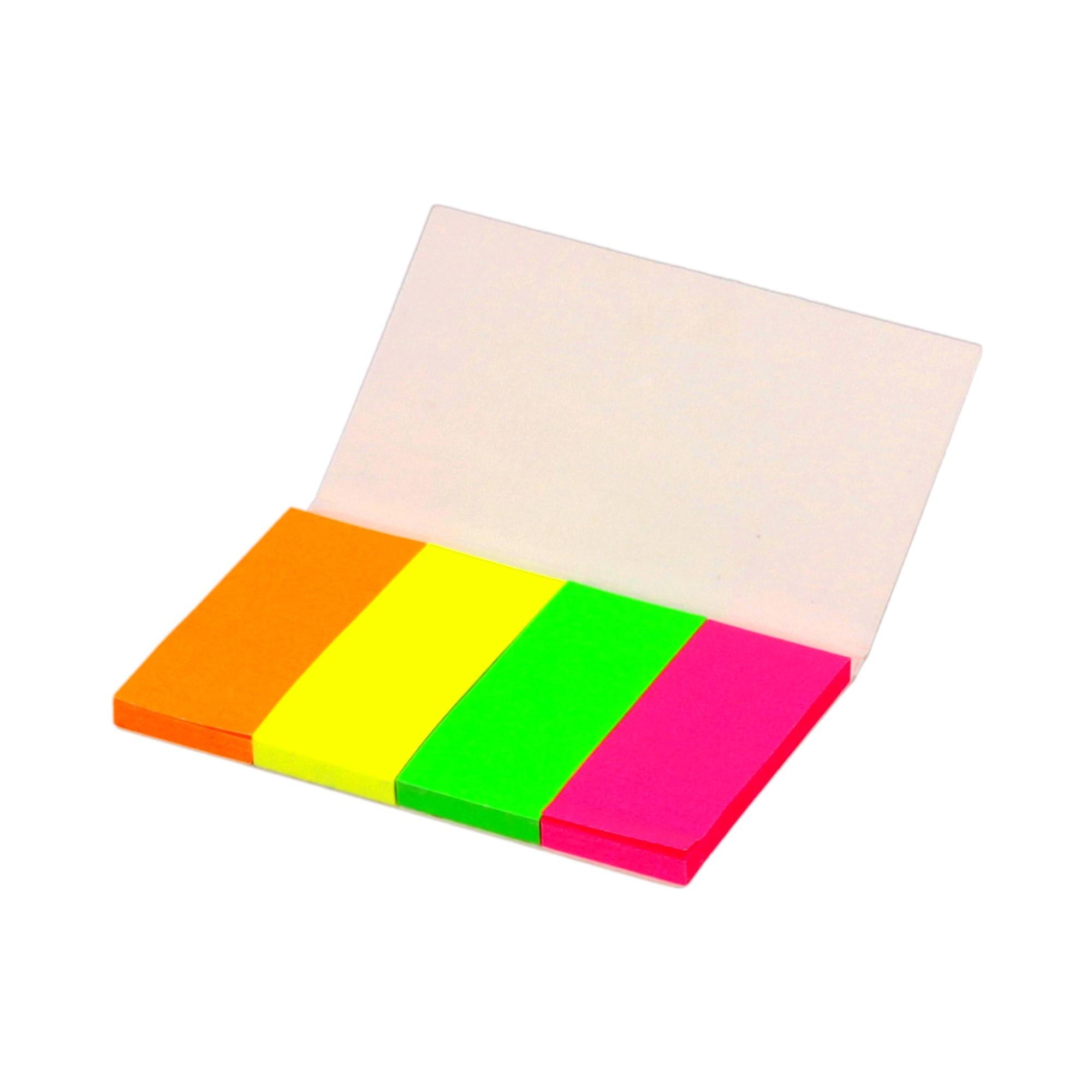 Zakładki indeksujące 20x50/40 4kol neon Dalpo