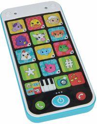 Simba 104010002 Abc Smartfon, 14 cm, Wielokolorowy