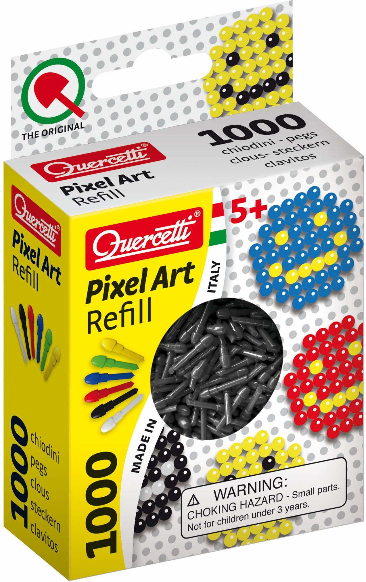QUERCETTI 2478 Refill Art Schwarz-Pixel wtyczka opakowanie zastępcze