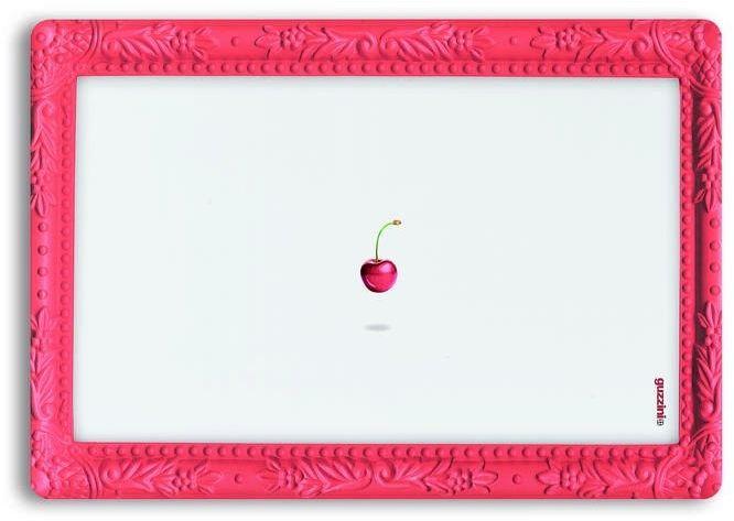 Guzzini -gocce - podkładka na stół, czereśnia - czerwony