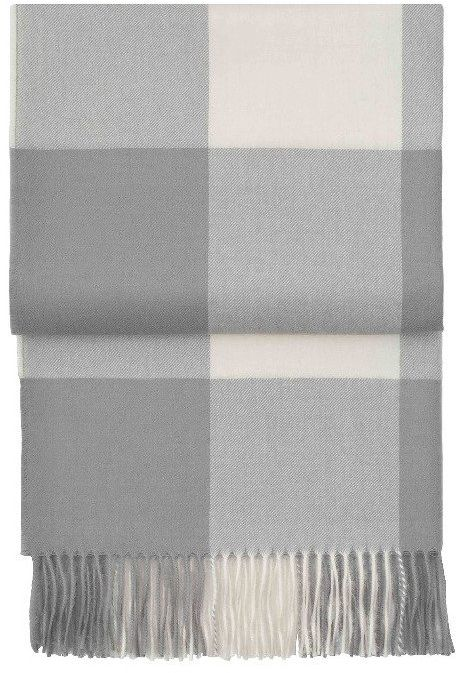 Pled wełniany Elvang Whisper Grey