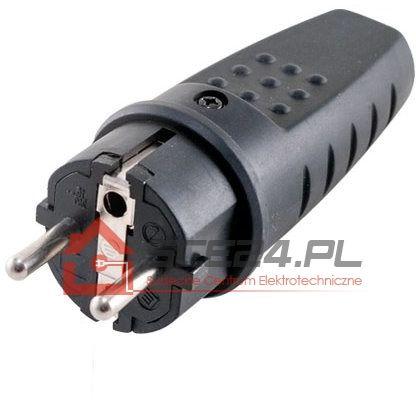 Wtyczka gumowa 230V IP44