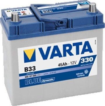 Akumulator VARTA Blue Dynamic B33 12V 45Ah 330A (EN) L+