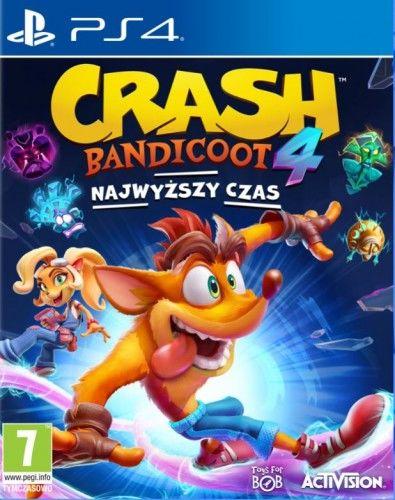 Crash Bandicoot 4 Najwyższy Czas PS 4