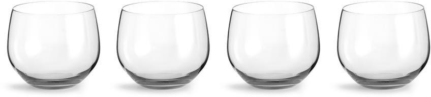 Zestaw 4 szklanek (przezroczystych) Interiör Spectra Sagaform