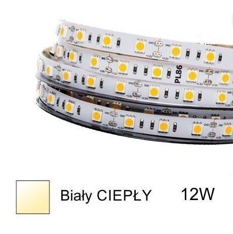 Prof taśma LED HQS-2835-12W-WW ciepła 1m