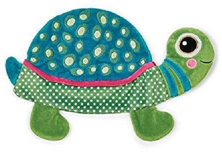 Oops Mały pomocnik zaskakująco miękka zabawka i komfort/Dou Dou Dou Nap Przyjaciel w słodkim żółwie