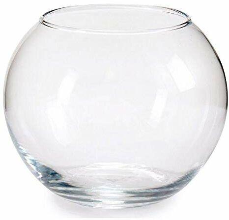 Pasabahce 43417 Globe szklany wazon, 12,5 cm, przezroczysty