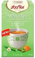 Herbata biała z aloesem BIO (17 x 1,8 g) 30,6 g Yogi Tea