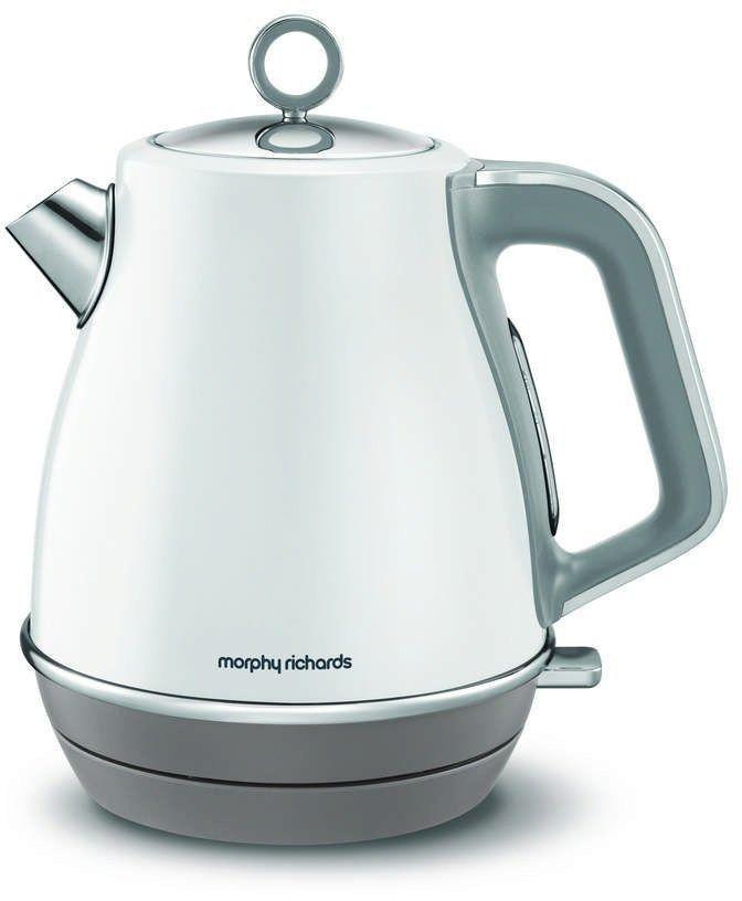Morphy richards - evoke jug - czajnik elektryczny, biały - biały