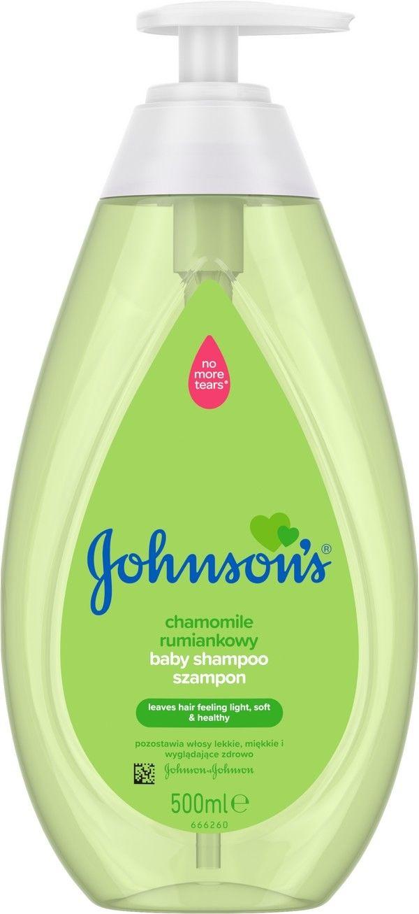 Johnson''s Baby Szampon rumiankowy z pompką 500ml