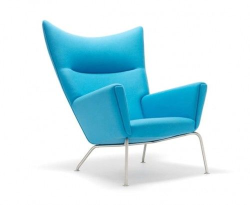 Fotel Skrzydło - inspirowany proj. Wing Chair Wełna