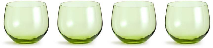 Zestaw 4 szklanek (zielonych) Interiör Spectra Sagaform