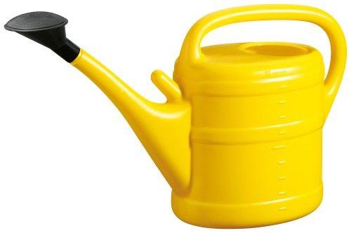 Konewka Geli z przystawką do zraszacza 10l żółta