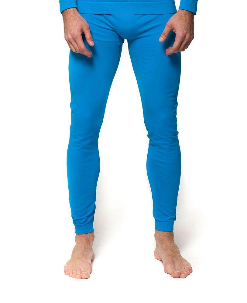 bielizna termoaktywna męska - spodnie HORSEFEATHERS RESULT PANT (blue)