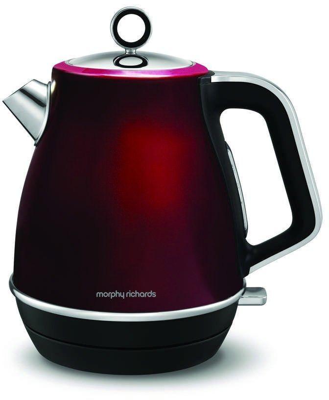 Morphy richards - evoke jug - czajnik elektryczny, czerwony - czerwony