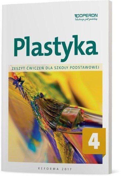 Plastyka SP 4 Zeszyt ćwiczeń OPERON - Piotr Florianowicz