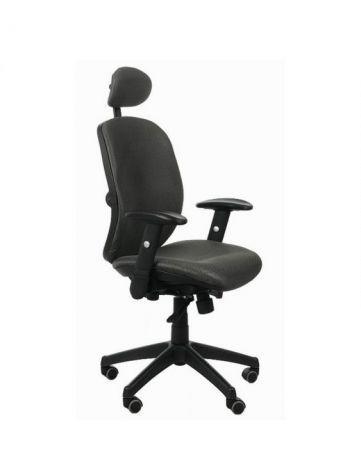 Fotel biurowy SPECTRUM HB grafitowy