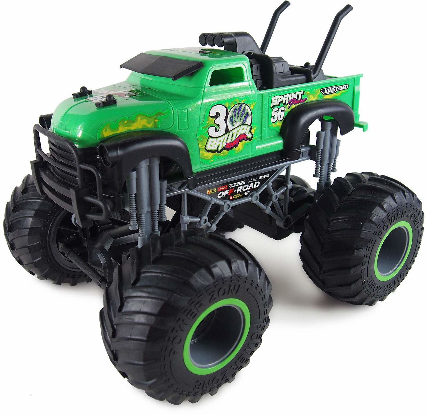 Amewi 22457 zielony Crazy Monster Truck 1:16 RTR