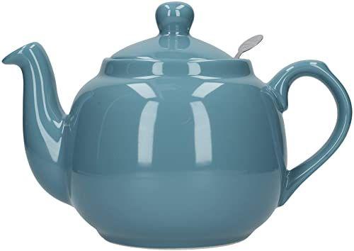 London Pottery Domek wiejski czajniczek z zaparzaczem, ceramiczny, wodny, 4 filiżanki (1,2 l)