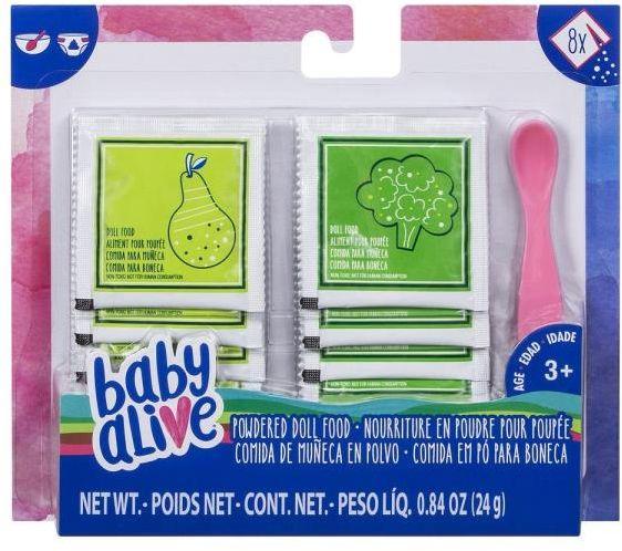 Baby Alive zestaw do karmienia lalki w proszku z łyżeczk (E0302 EU40)