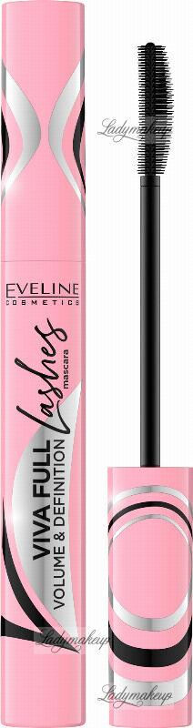 Eveline Cosmetics - VIVA FULL LASHES - VOLUME & DEFINITION MASCARA - Pogrubiająco-rozdzielający tusz do rzęs - 10 ml