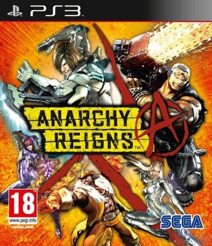 Anarchy Reigns PS 3 Używana