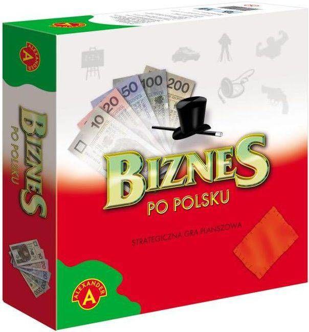Biznes po polsku - średni gra planszowa