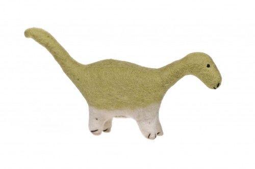 Dinozaur - zwierzak filcowy