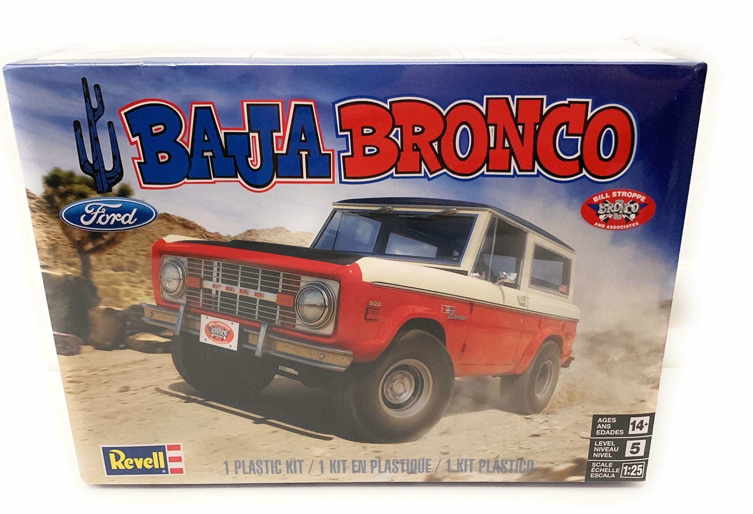 Revell 14436 Baja Bronco odwzorowany zestaw modeli, zestaw samochodowy 1:25, wielokolorowy
