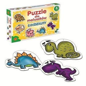 Puzzle dla maluszków-dinozaury