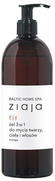 Ziaja baltic home spa fit żel do mycia 3w1 500 ml