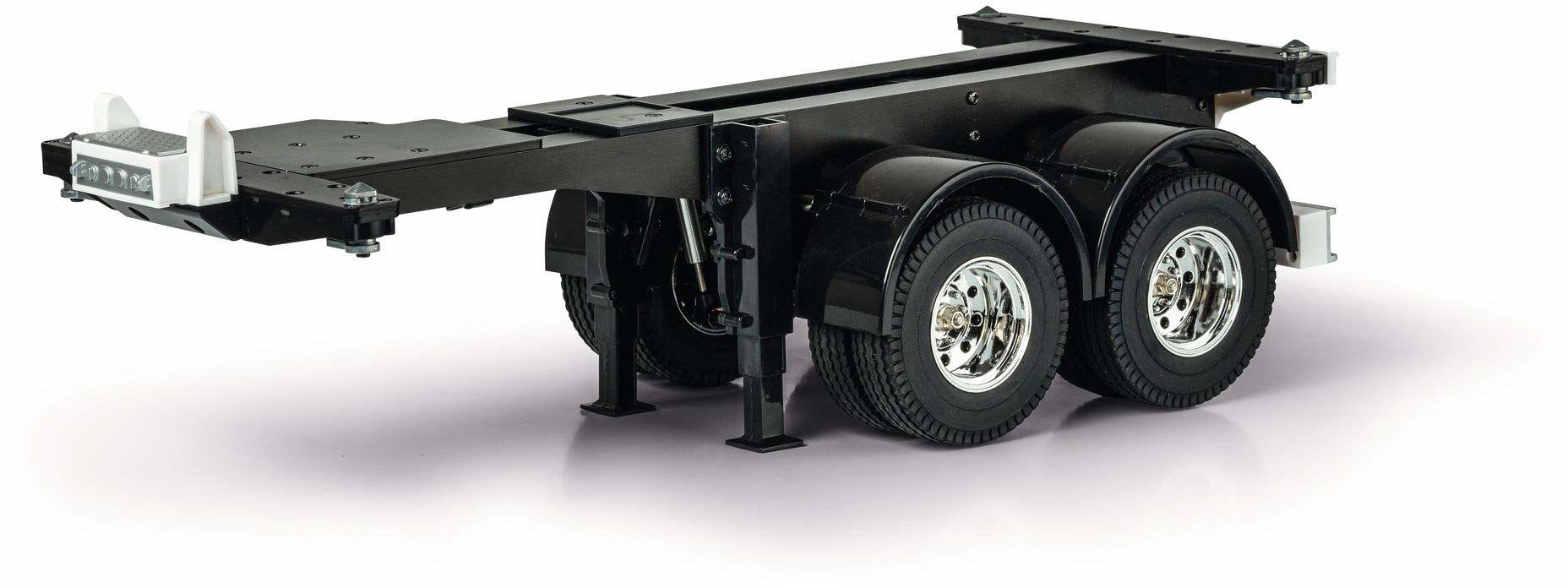 Carson 1:14 20 st. zestaw uchwytów kontenerowych, RC, akcesoria do ciężarówek Tamiya, części zamienne, części tuningowe, budowa modeli, Made in Germany, 500907334