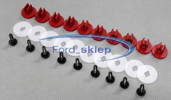 Zestaw spinek do mocowania osłony pod silnik