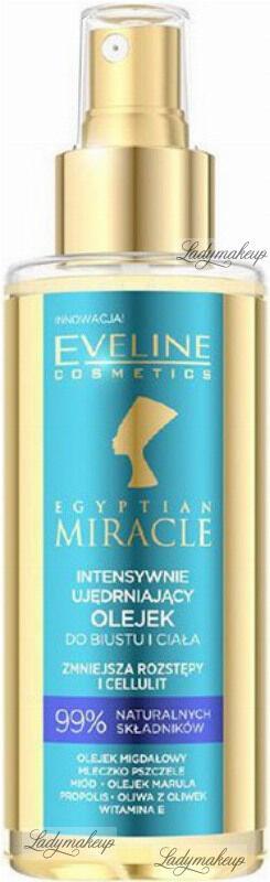 Eveline Cosmetics - EGYPTIAN MIRACLE - Intensywnie ujędrniający olejek do biustu i ciała - 150 ml