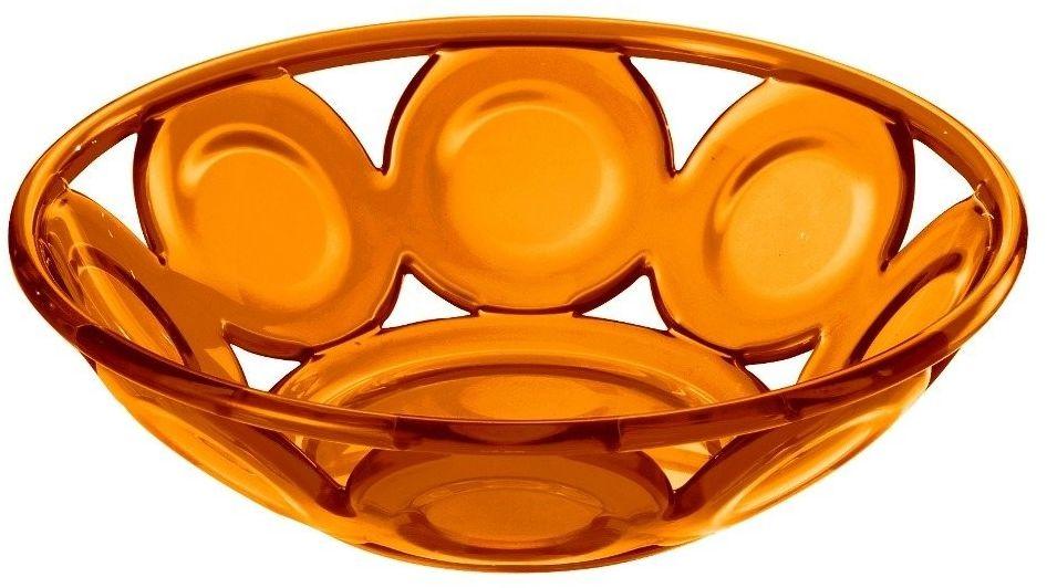 Kosz na pieczywo bolli, pomarańczowy - pomarańczowy