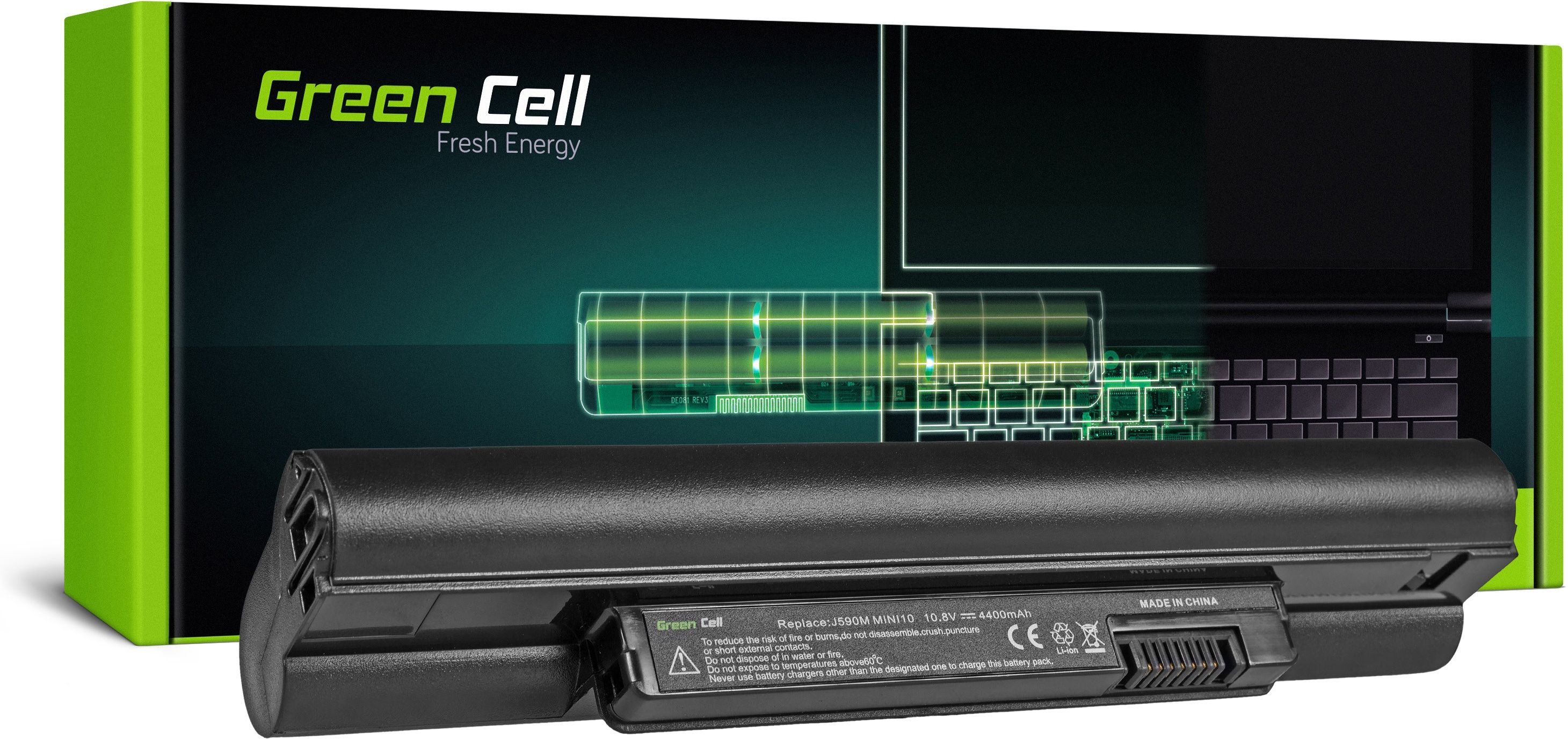Bateria Green Cell do Dell Inspiron Mini 10 11 1010 1011 11Z