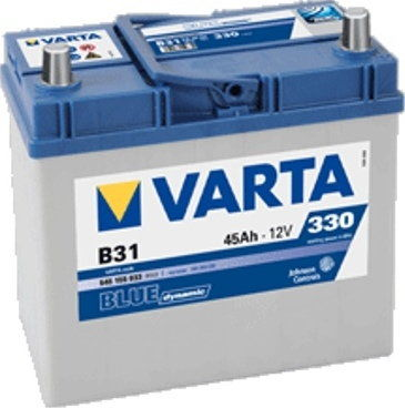 Akumulator VARTA Blue Dynamic B31 12V 45Ah 330A (EN) P+