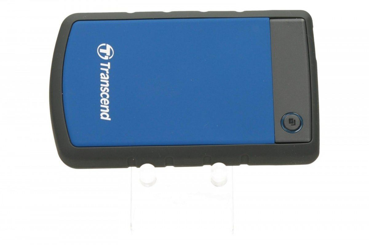 """Transcend Dysk HDD zewnętrzny 2,5"""" StoreJet 25H3B 1TB USB3.0 niebieski"""