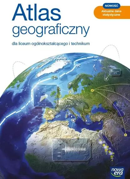 Atlas Geograficzny LO 2021 BR NE - Praca zbiorowa
