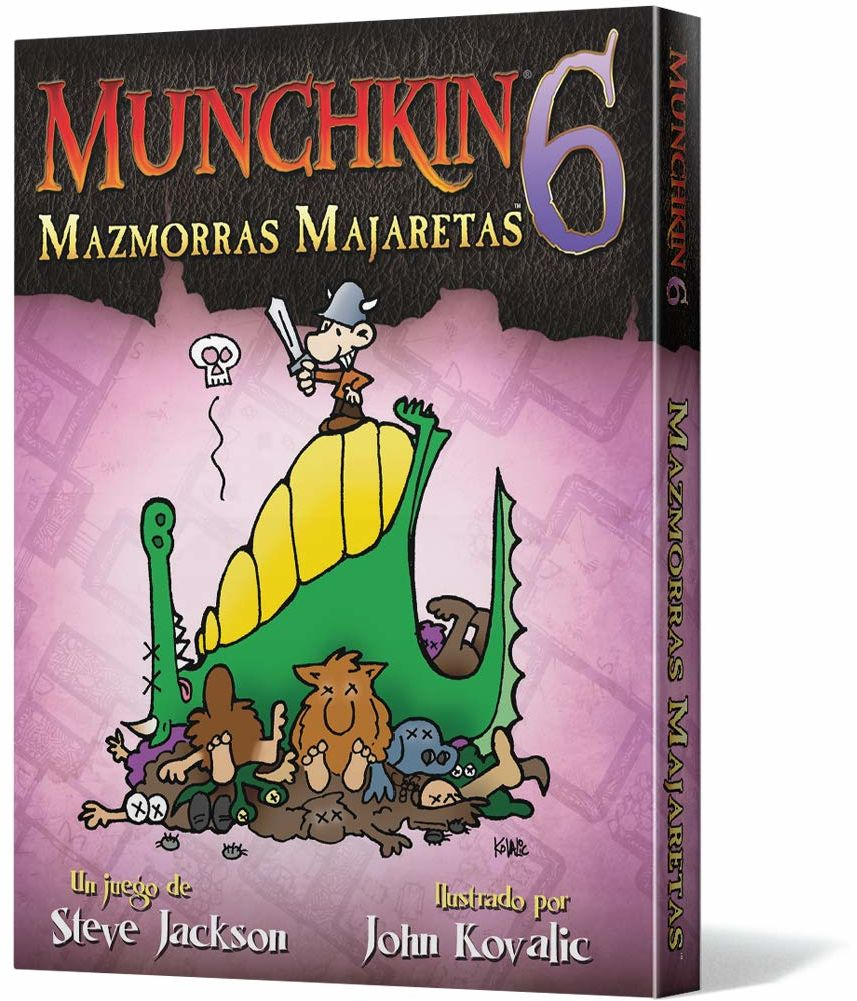 Edge Entertainment Munchkin 6: Mazmorras Majarettes (EESJMU06)
