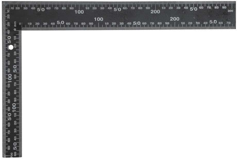 Kątownik metalowy czarny 600x400 mm Vorel 18200 - ZYSKAJ RABAT 30 ZŁ