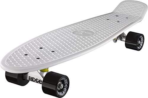 Ridge Deskorolka Big Brother nikiel 69 cm Mini Cruiser, biała/czarna