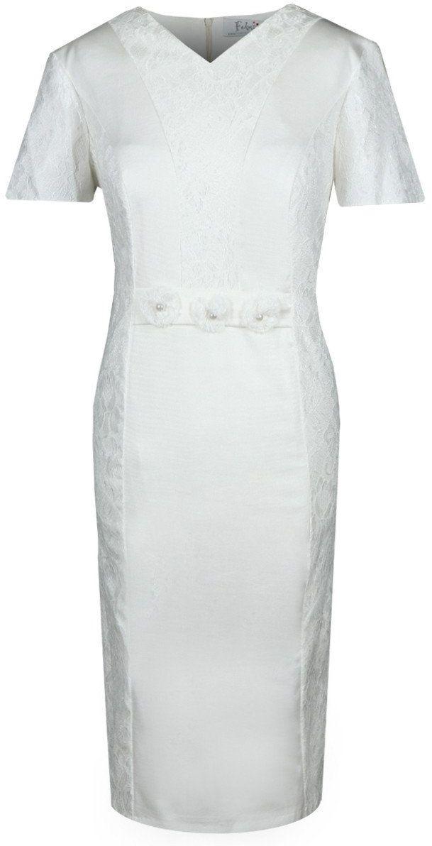 Sukienka FSU1003 EKRI