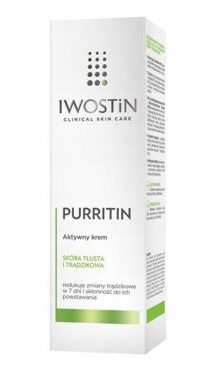 Iwostin Purritin aktywny krem na dzień 40 ml