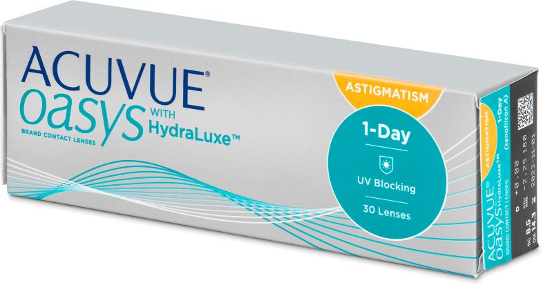 Acuvue Oasys 1-Day with HydraLuxe for Astigmatism 30 szt.