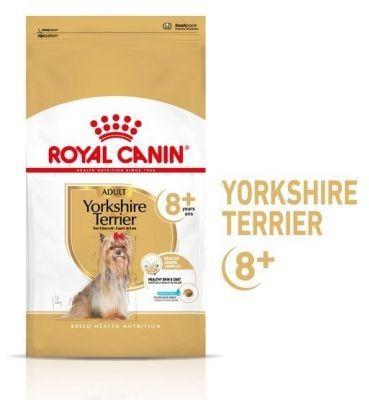 Royal Canin Yorkshire Terrier Adult 8+ karma sucha dla psów starszych rasy yorkshire terrier 500g