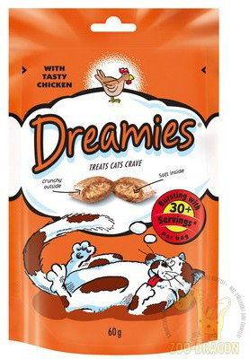 DREAMIES 60g - przysmak dla kota z pysznym kurczakiem
