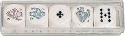 Piatnik, kości do gry, Pokerowe (22mm) ZAKŁADKA DO KSIĄŻEK GRATIS DO KAŻDEGO ZAMÓWIENIA